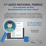 Folder 11ª Ação Nacional Febrac