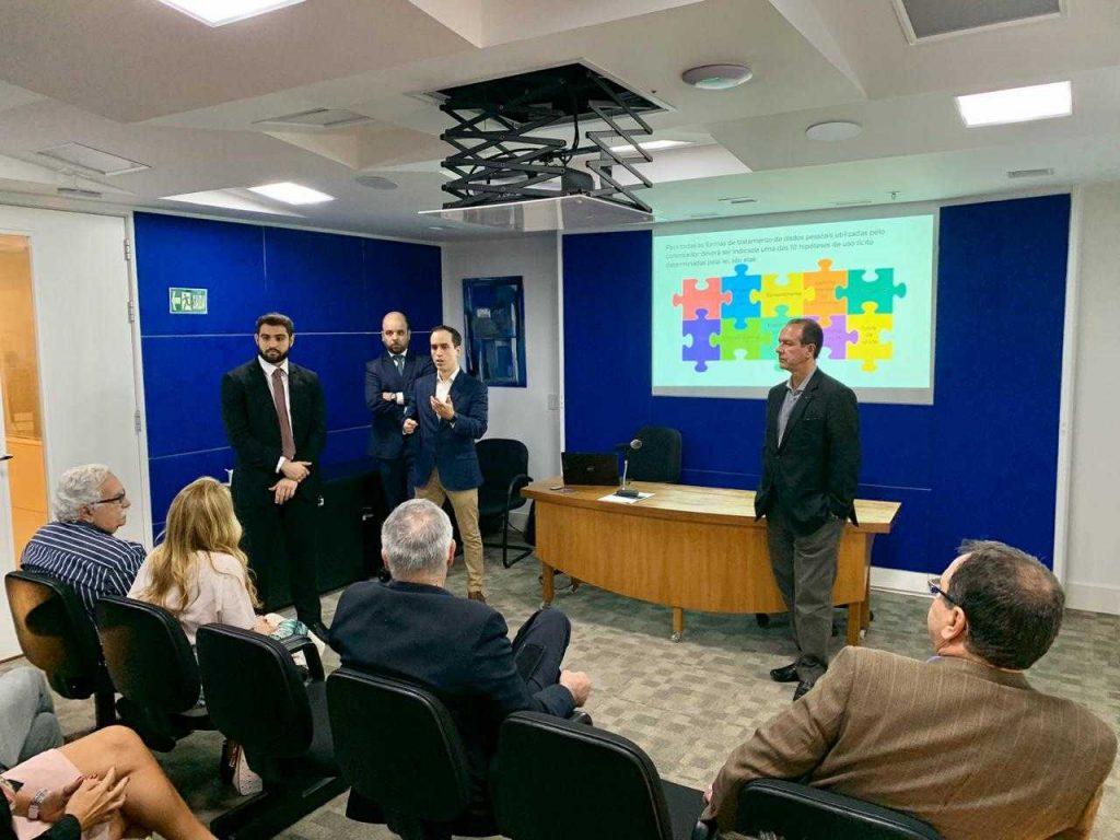 O presidente Ricardo Garcia abriu o evento na sede do Seac-RJ